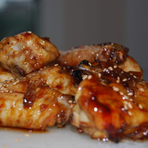Sesame & Soy Glazed Wings