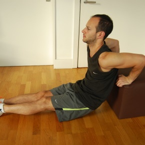 @Home Workouts: Tricep Dips