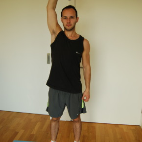 @Home Workouts: One-Arm Dumbell Tricep Extensions
