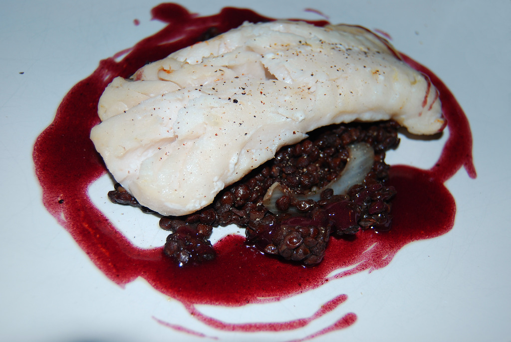 cod with puy lentils1