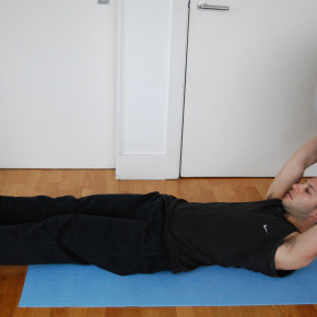 @Home Workouts:  'Passing The Gym Ball'