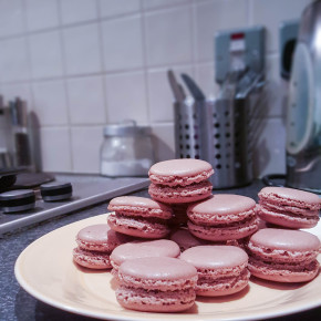 Chocolate Nutella Macaroons