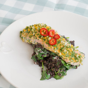 Herb & Lemon-Crusted Salmon