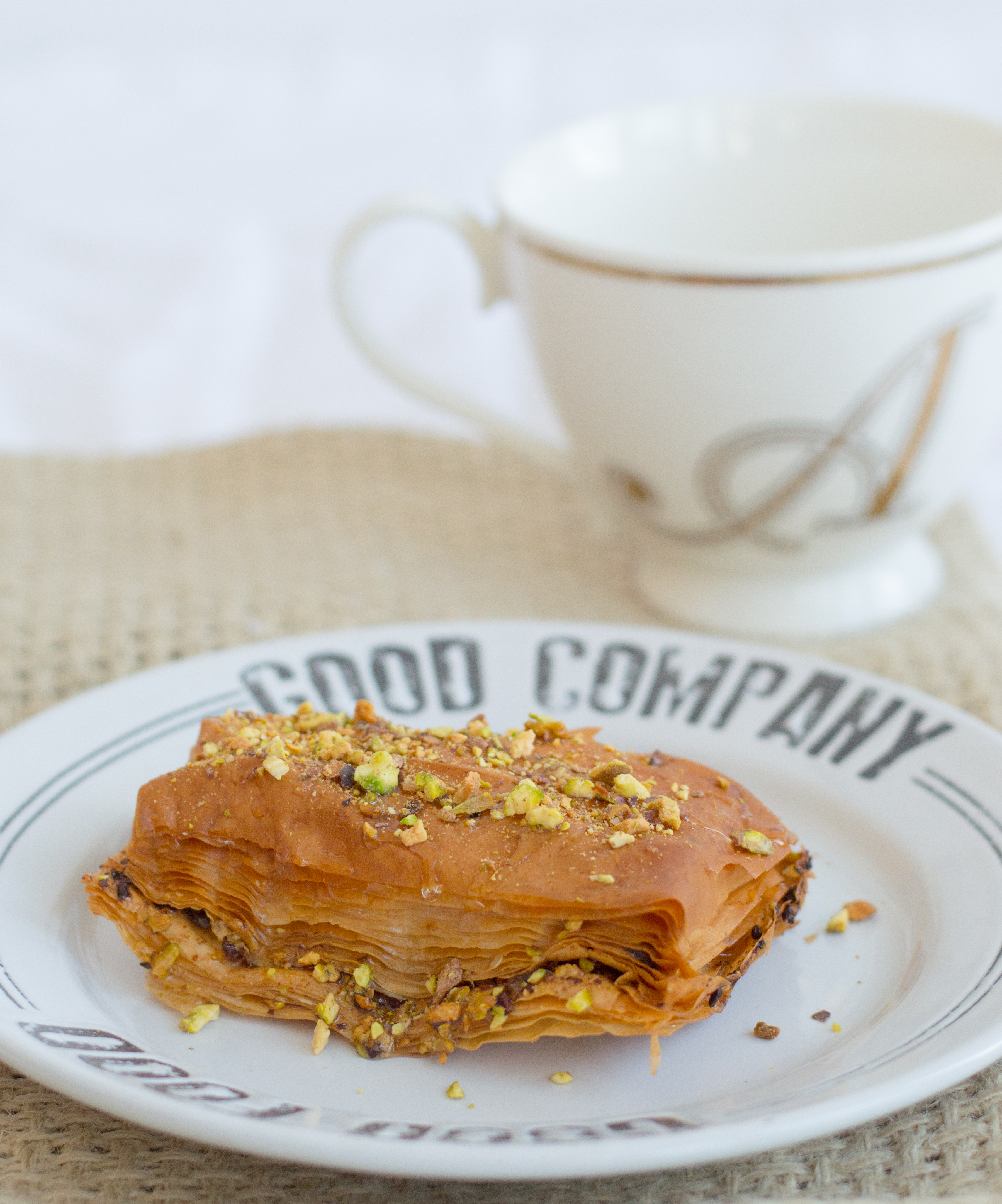 Pistachio Baklava - Food&Fitness Always