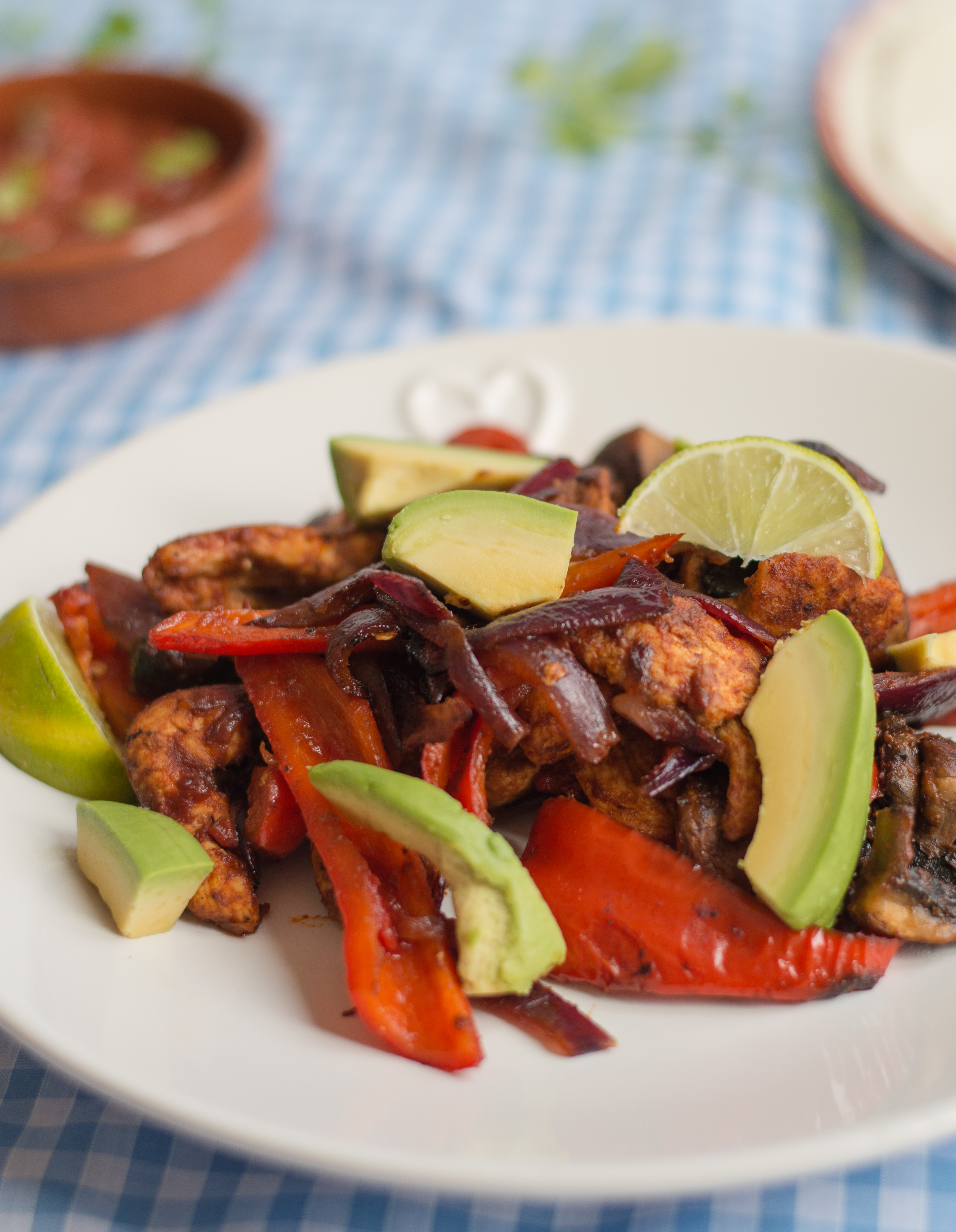 chicken fajitas (45 angle)