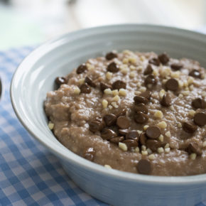 Chocolate Nutty Porridge