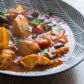 (RECIPE) Harissa-Spiced Cod Stew