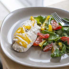 (RECIPE) Paprika & Yellow Pepper Chicken Salad